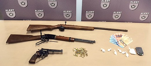 Firearms seized in Medicine Hat
