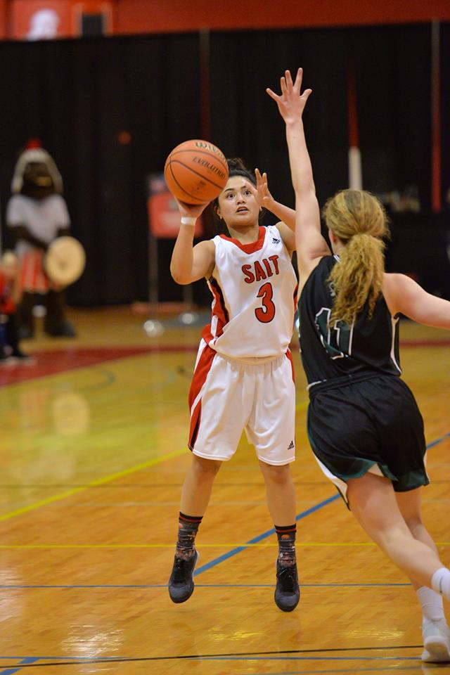 SAIT Women's Basketball Player Leaves Legacy On and Off Court