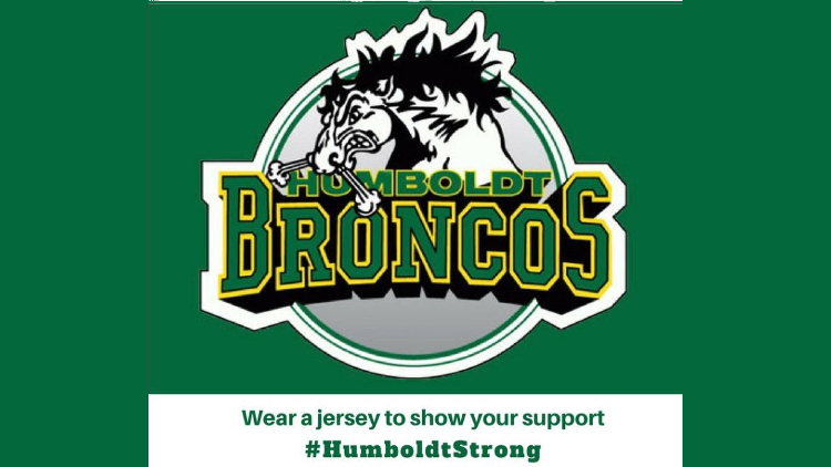 Jerseys on for Humboldt