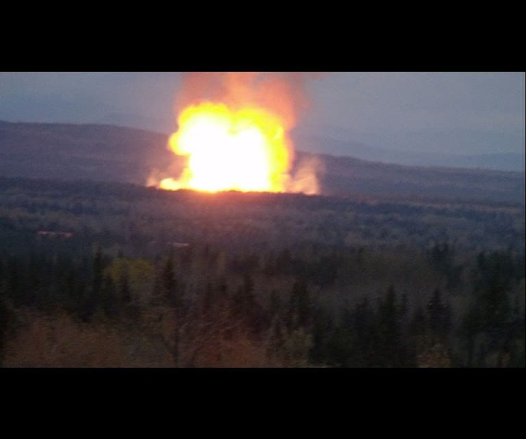 Pipeline explosion forces multiple evacuations