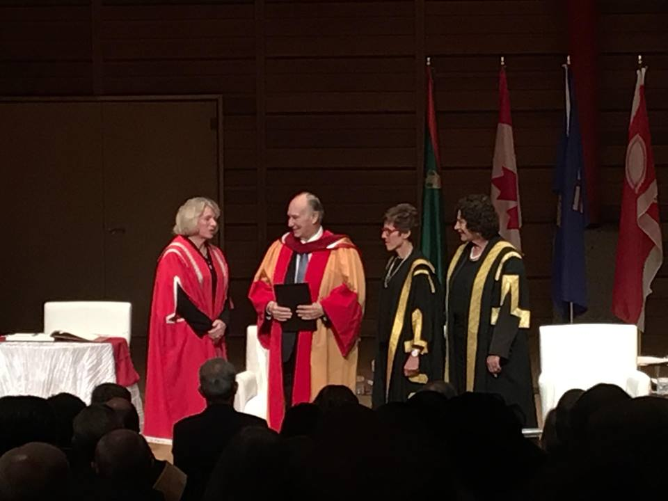 Aga Khan receives highest academic honor from University of Calgary