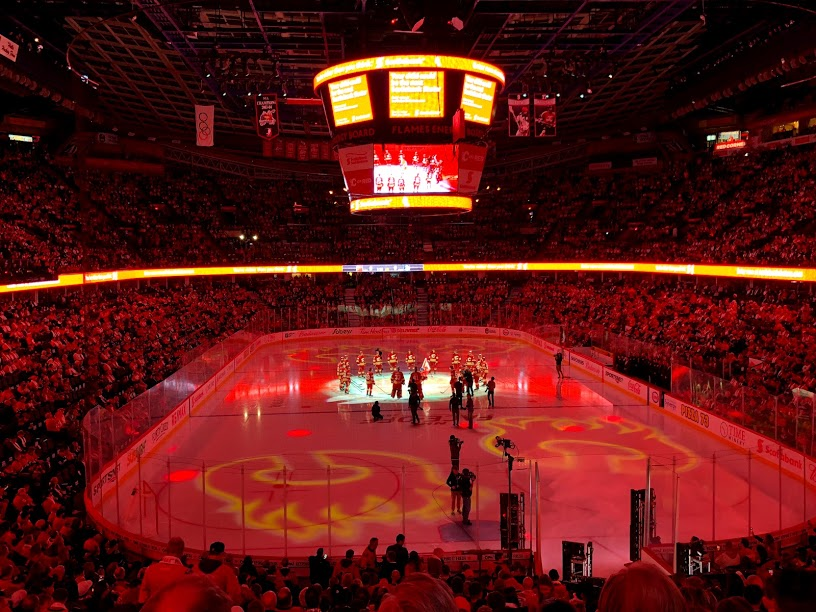 Flames look to crash the party in Smashville