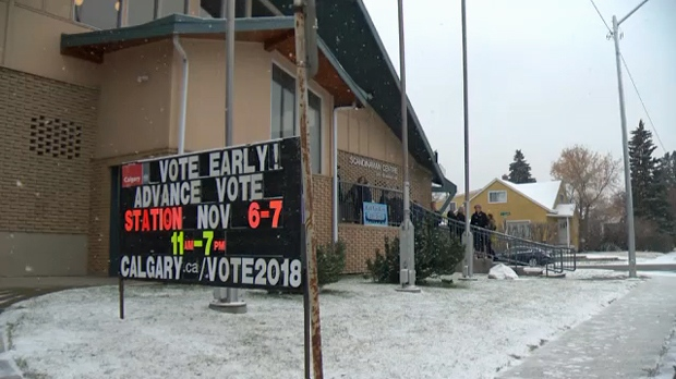 Calgarians flock to polls to vote in the Olympic plebiscite