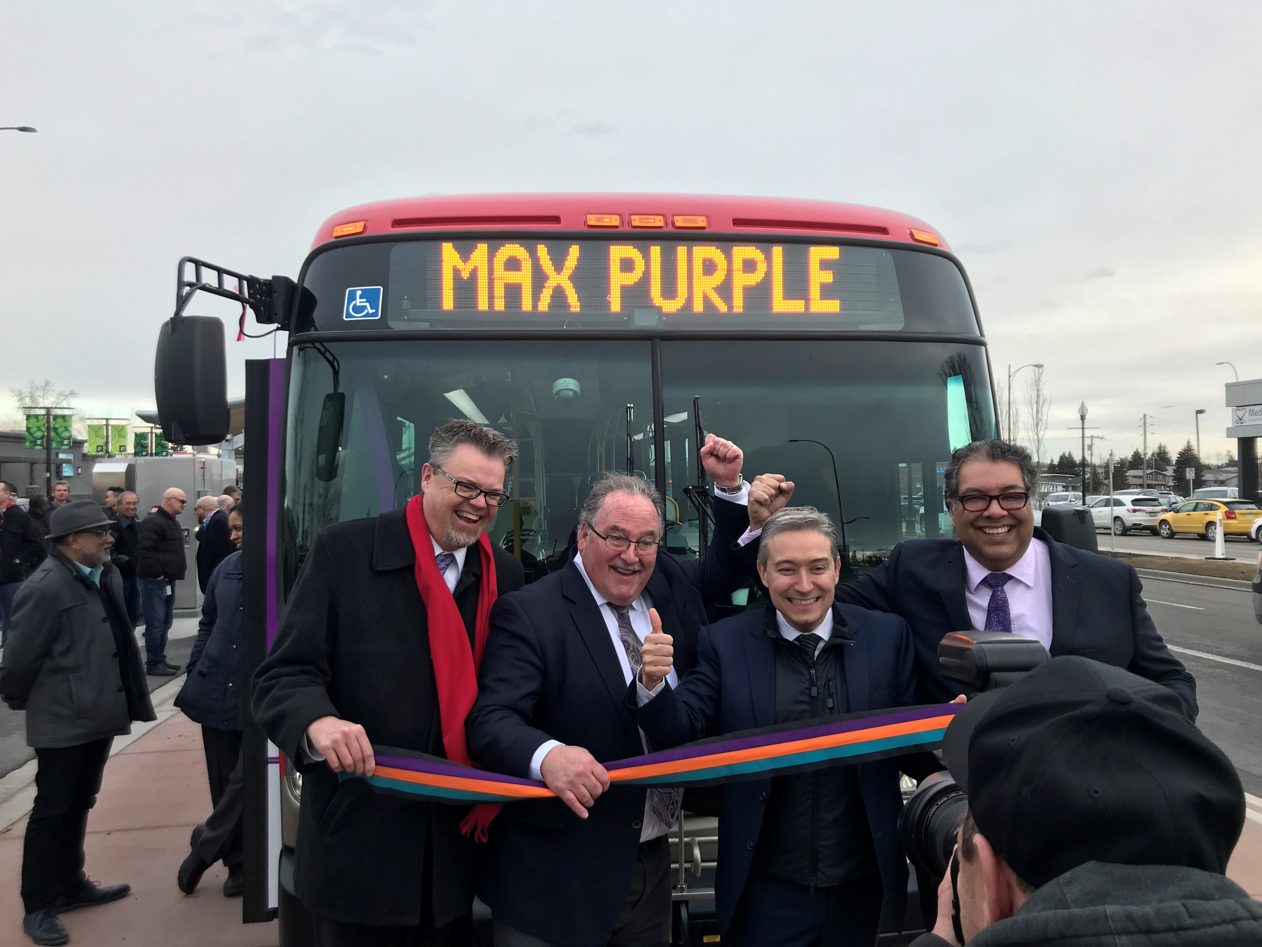 Calgary implements 3 new bus lines