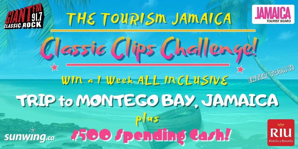 GIANT FM presents THE TOURISM JAMAICA CLASSIC CLIPS CHALLENGE!