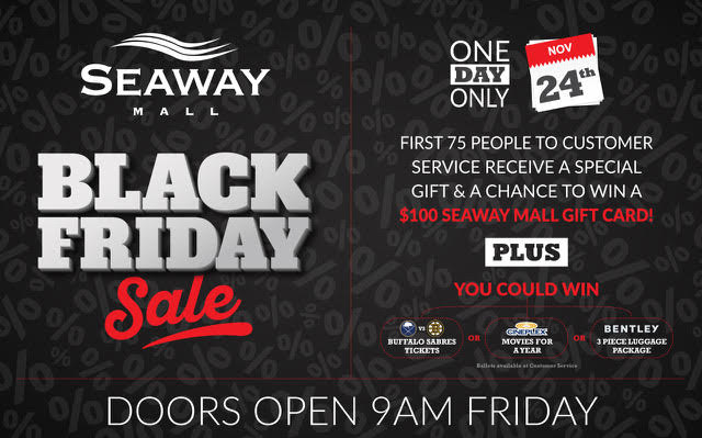 BLACK FRIDAY at the SEAWAY MALL