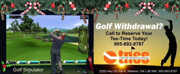 WIN a Round of Golf at Turf Net Sports!