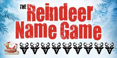 Reindeer Name Game