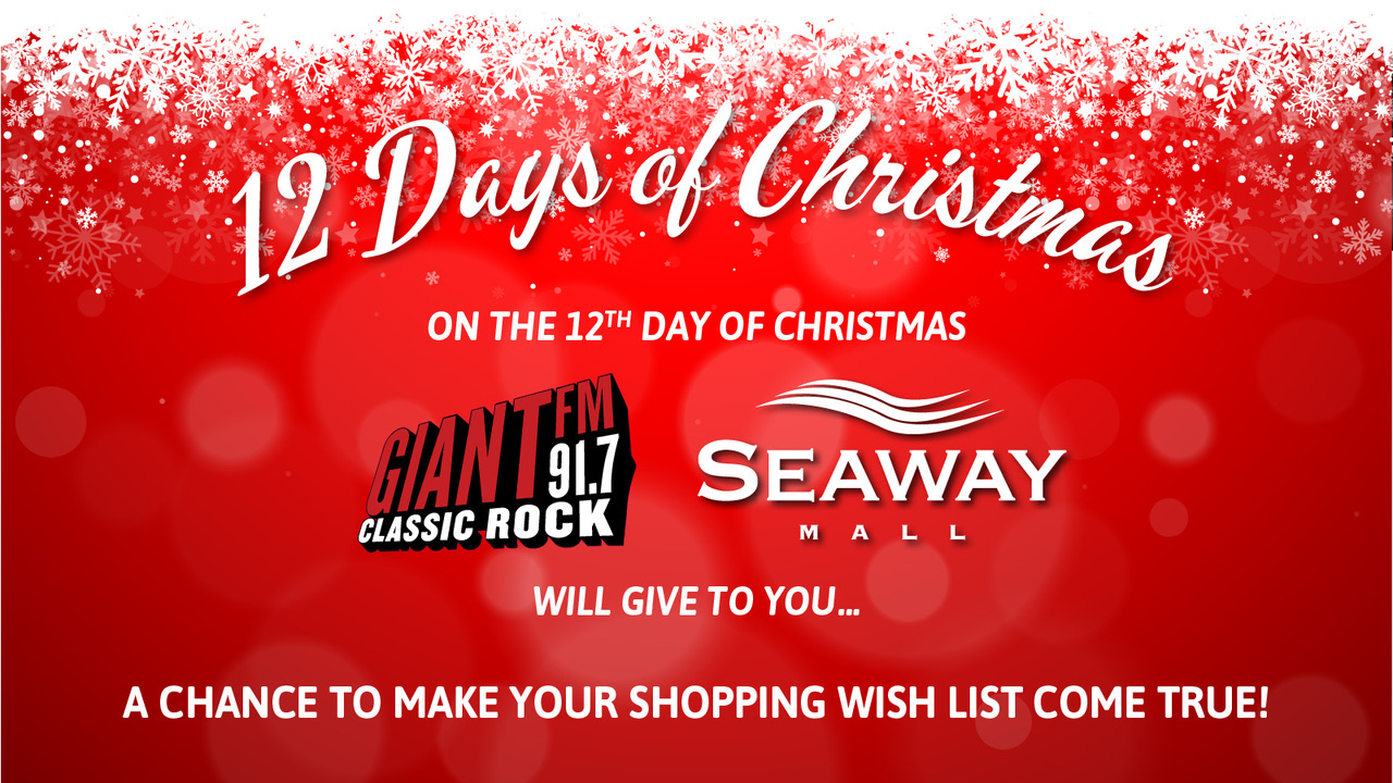 12 Days Of Christmas List.On The 12th Day Of Christmas Giantfm