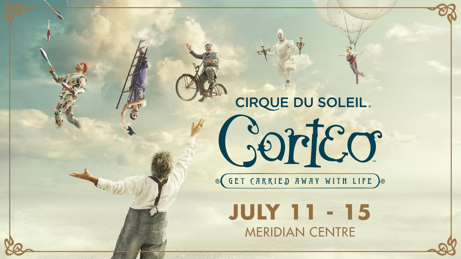 Summersault into Spring with Cirque du Soleil!