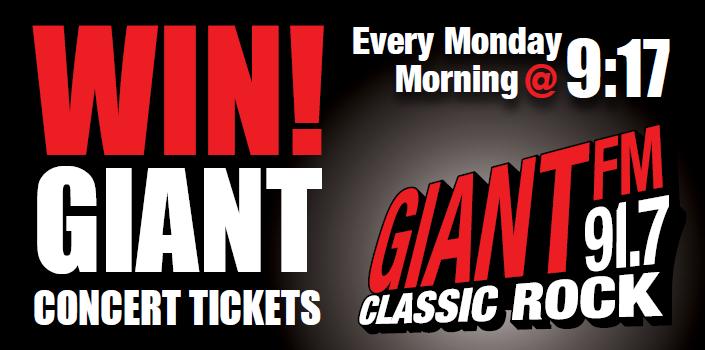 WIN GIANT Concert Tickets