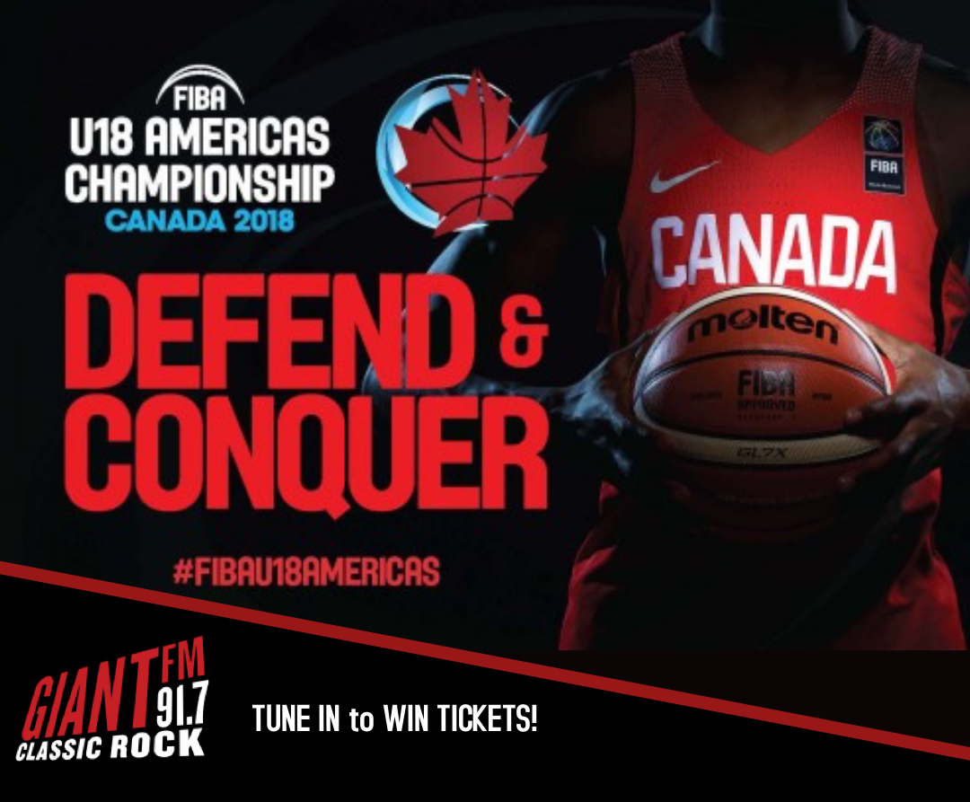 WIN Family 4-Packs to the U18 Americas Basketball Championships!
