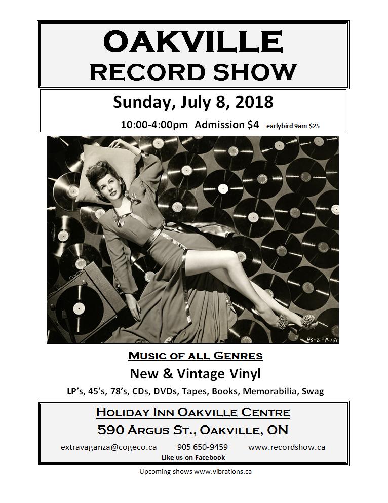 Oakville Record Show