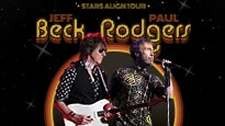 Stars Align Tour: Jeff Beck & Paul Rodgers and Ann Wilson of Heart