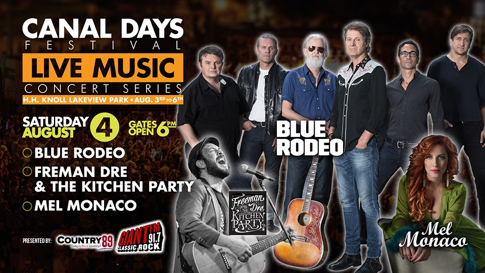 Win Your Way to Meet & Greet With Blue Rodeo