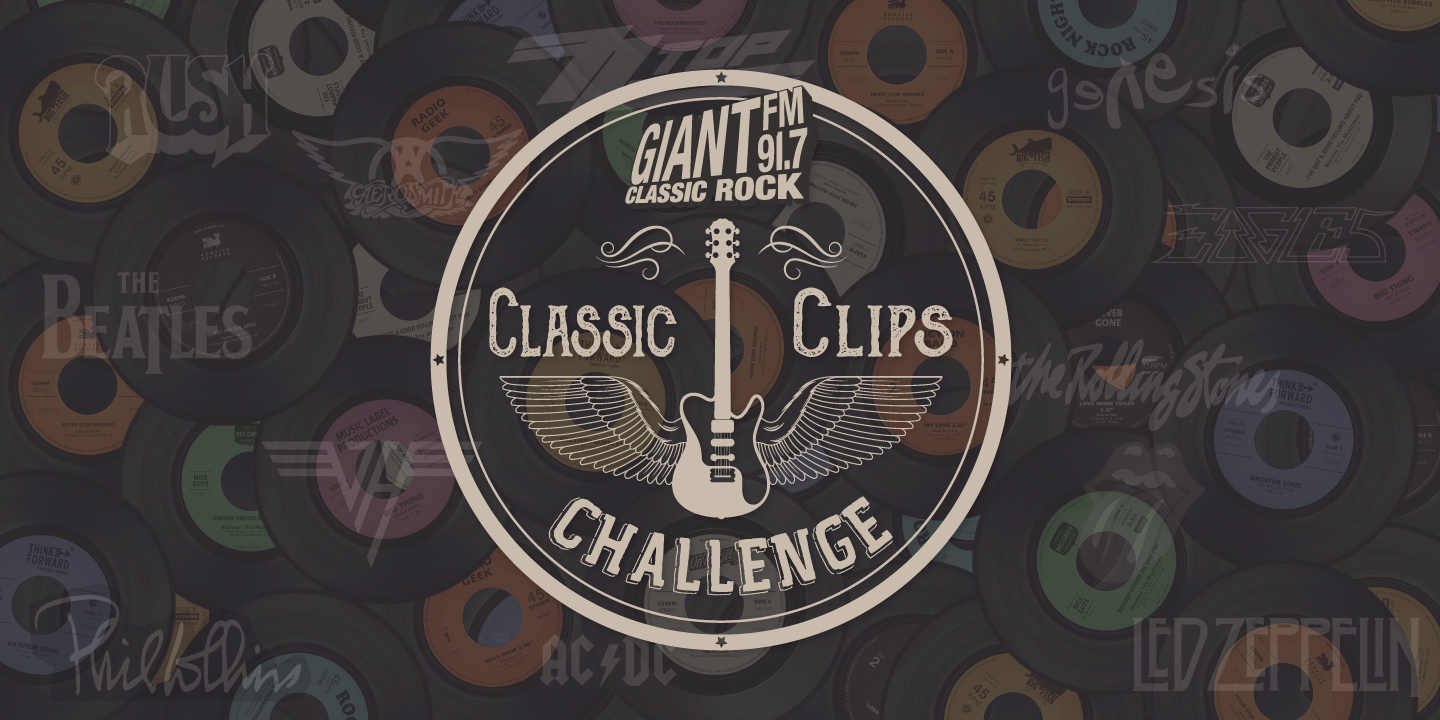 Feature: https://www.giantfm.com/2018-classic-clips-challenge/