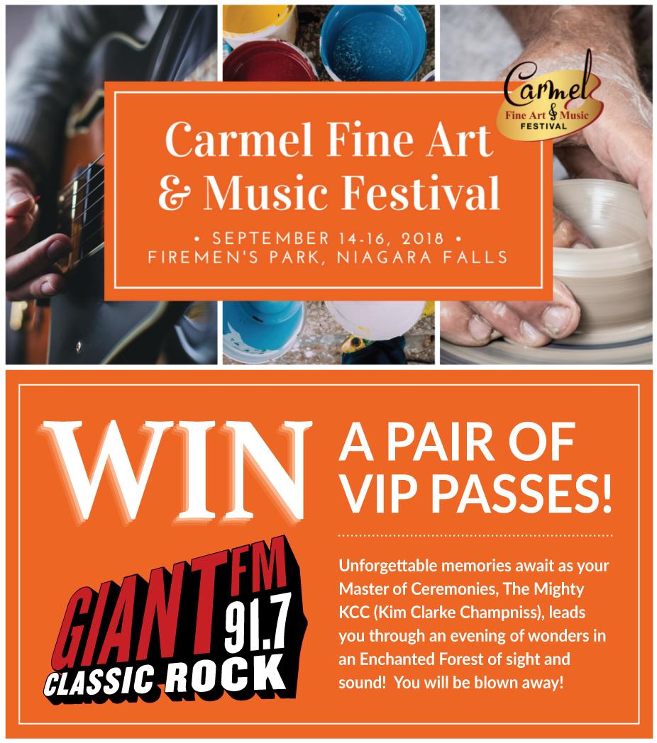 Carmel Fine Art and Music Festival VIP