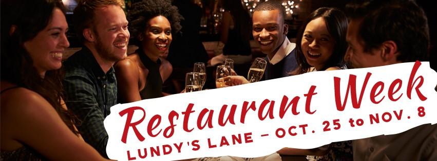 Restaurant Week on Lundy's Lane