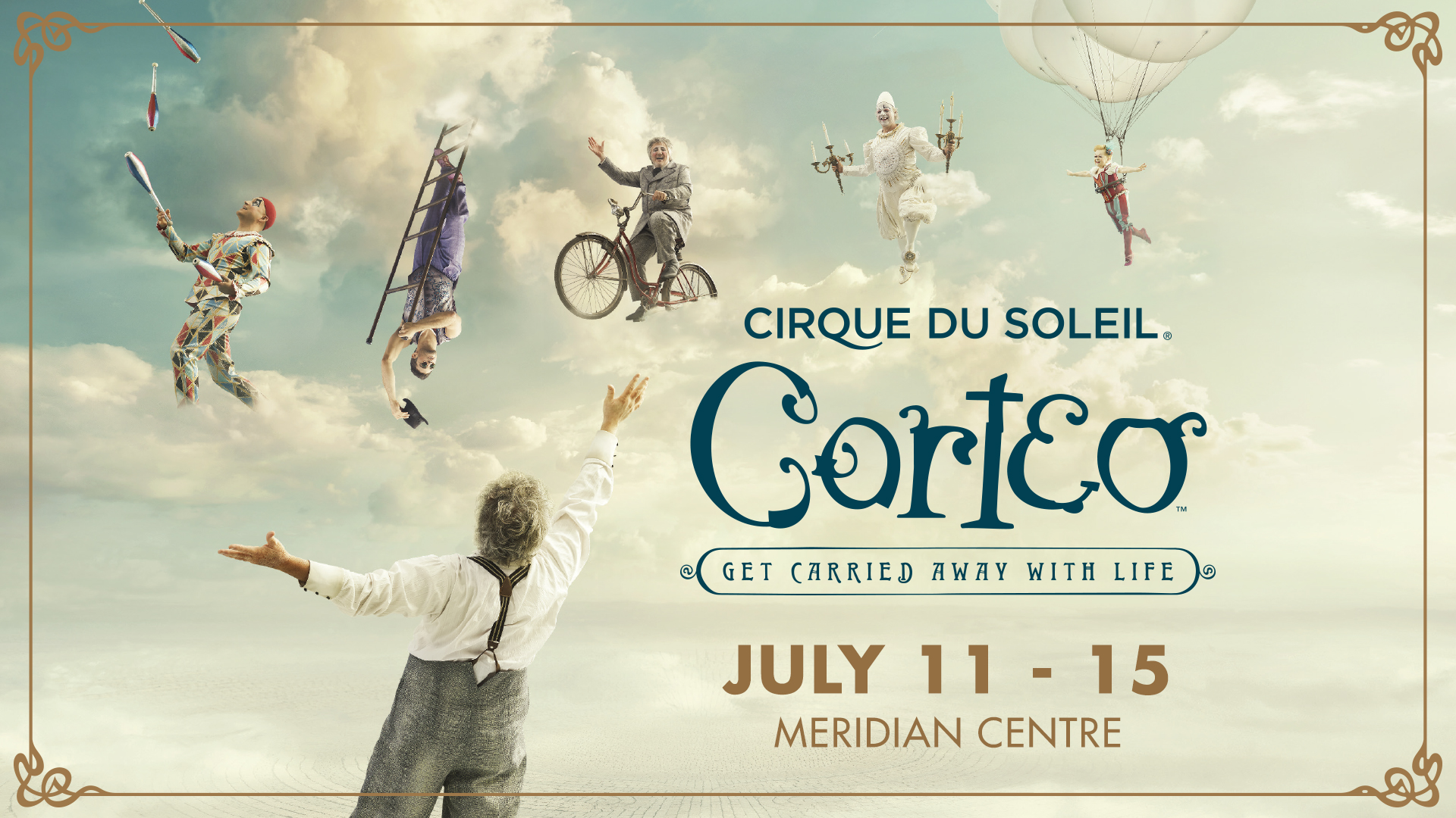 Summersault into Spring with the Cirque du Soleil!