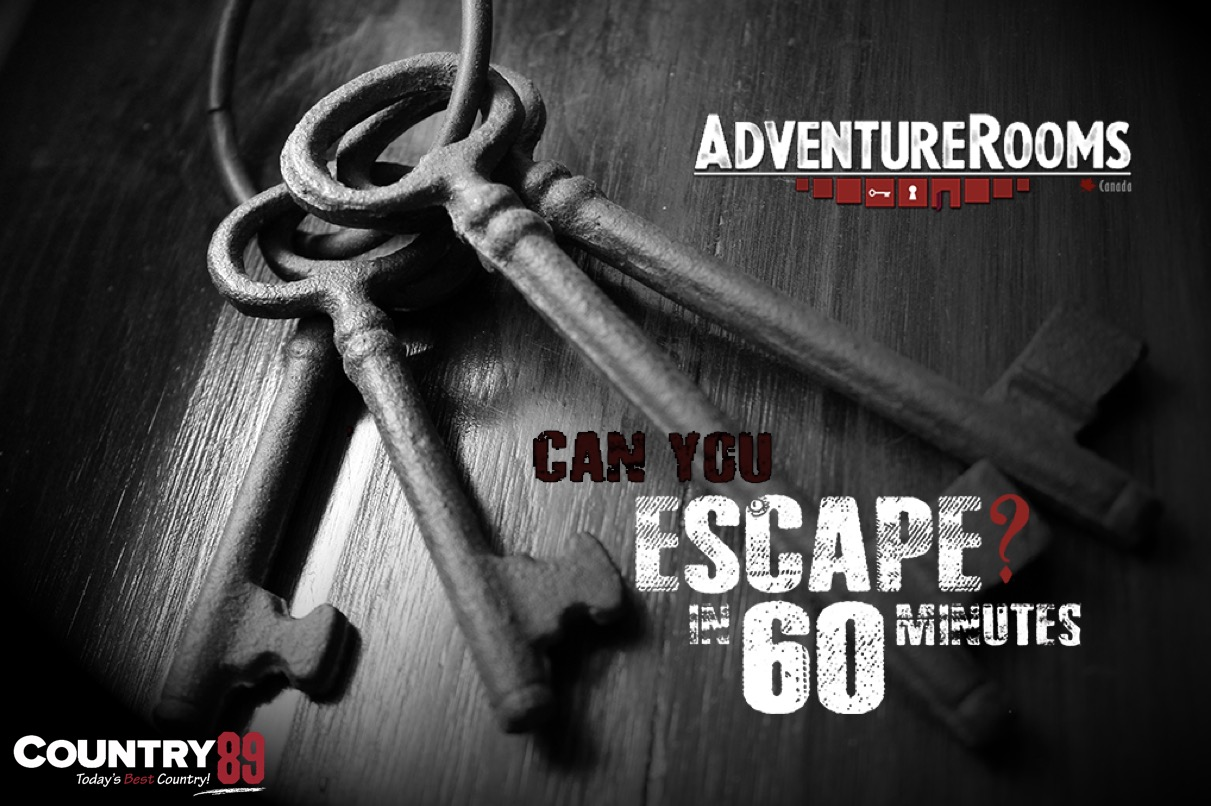 Escape the Everyday with ADVENTURE ROOMS CANADA and COUNTRY 89!