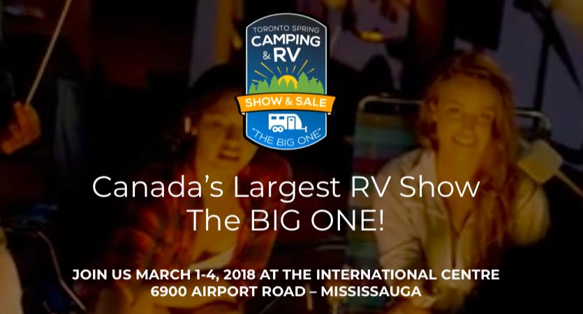 Toronto Spring Camping & RV Show