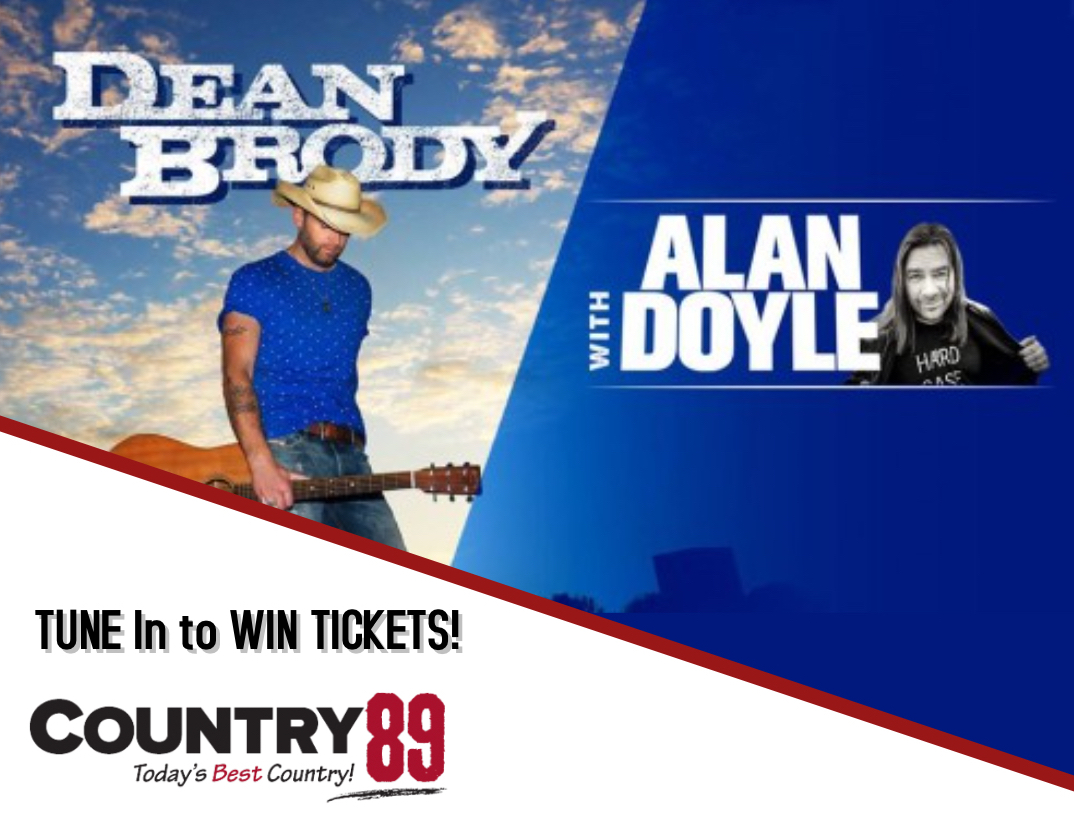 Win Tickets to see DEAN BRODY with ALAN DOYLE!
