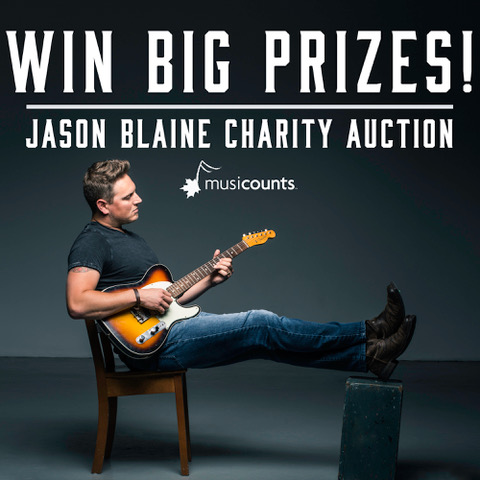 Jason Blaine Charity Auction!