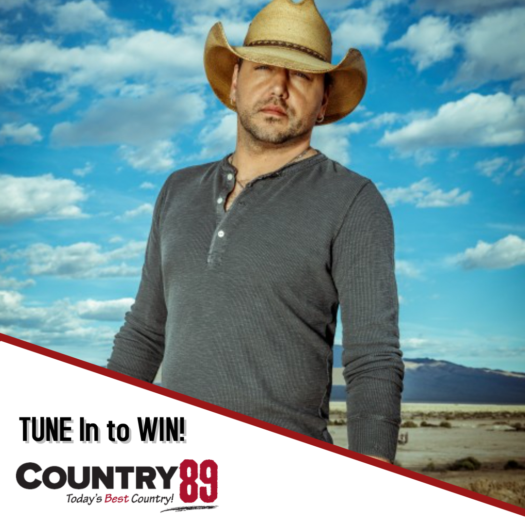 WIN a Jason Aldean CD + Qualify for Prize Pack!