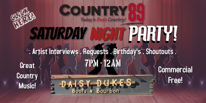 Feature: http://www.country89.com/saturday-night-party/