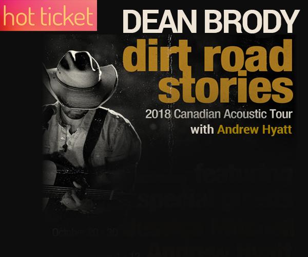 Dean Brody's 'Dirt Road Stories Acoustic Tour'