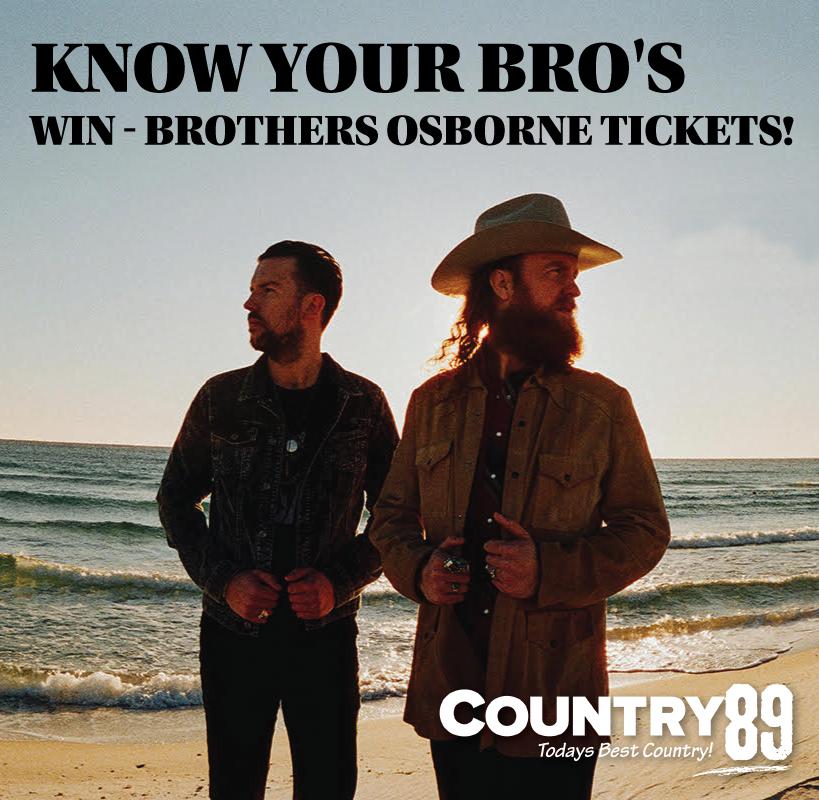 Win Brothers Osborne Tickets!