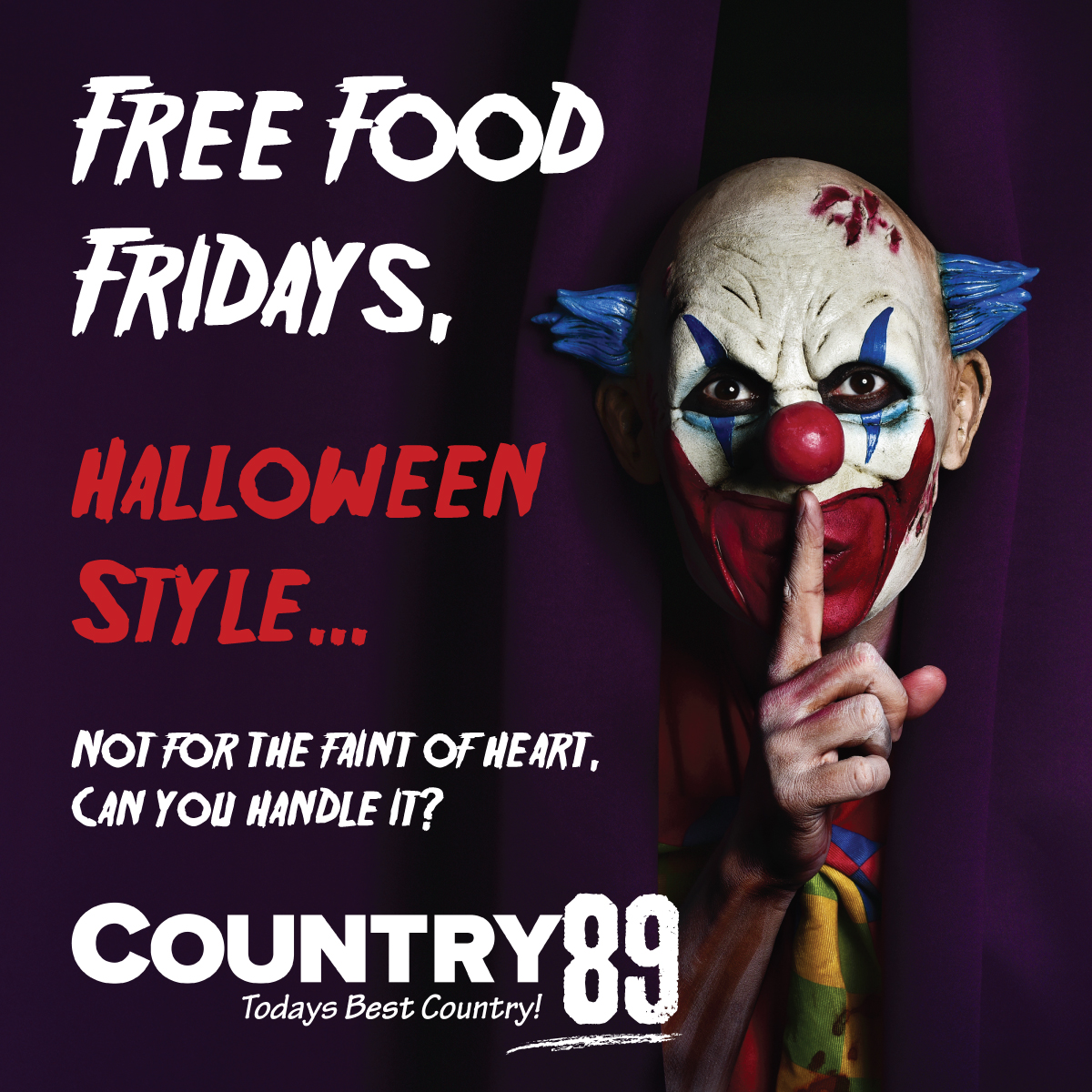 Free Food Friday (Halloween Edition)