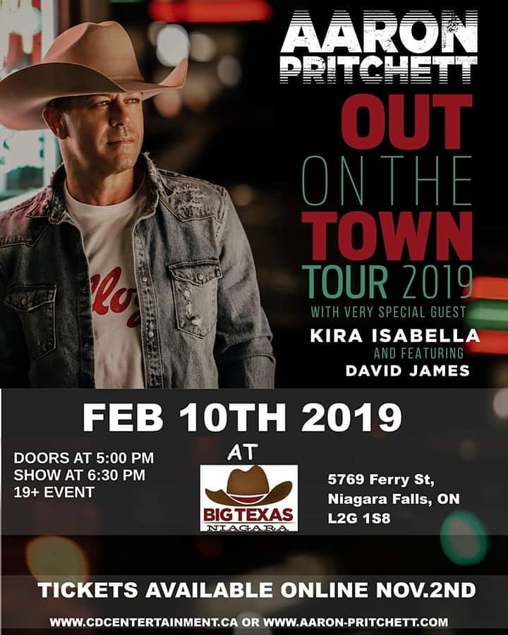 We're Sending YOU to see Aaron Pritchett On Tour!