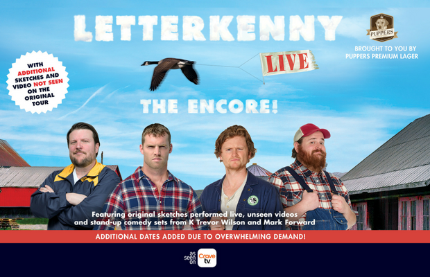 LETTERKENNY At The Meridian Centre
