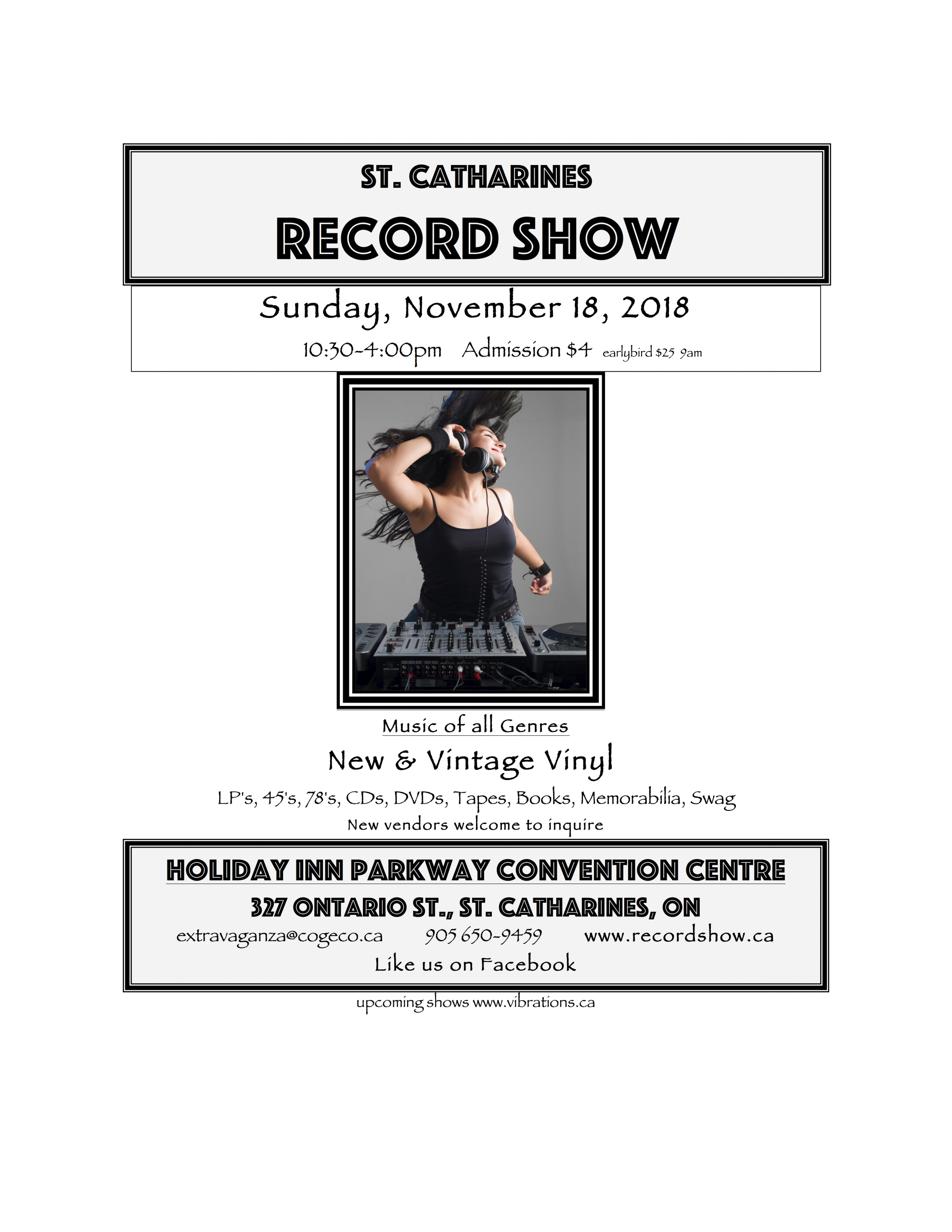 St Catharines Record Show