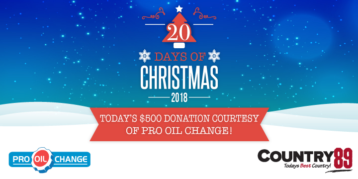 Feature: https://www.country89.com/20-days-of-christmas/