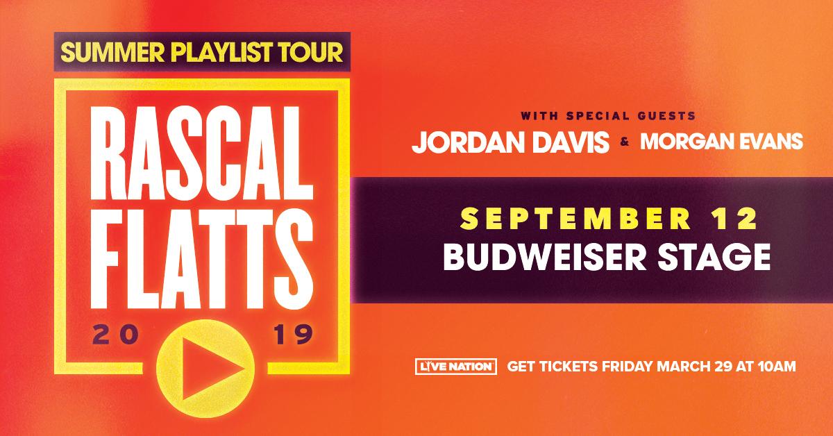 Rascal Flatts: Summer Playlist Tour   COUNTRY 89