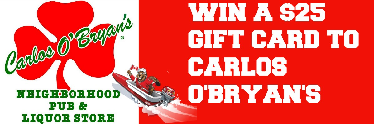 Carlos O'Bryan's Bathtub Weekend Giveaway!