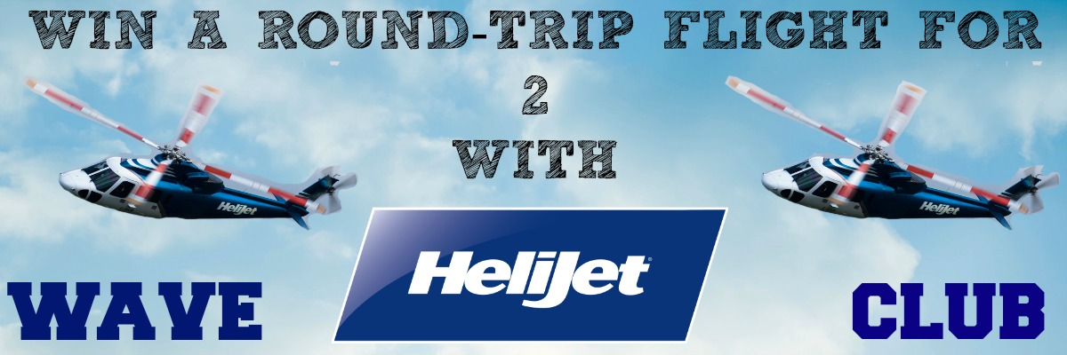 WIN a round-trip flight with Helijet!