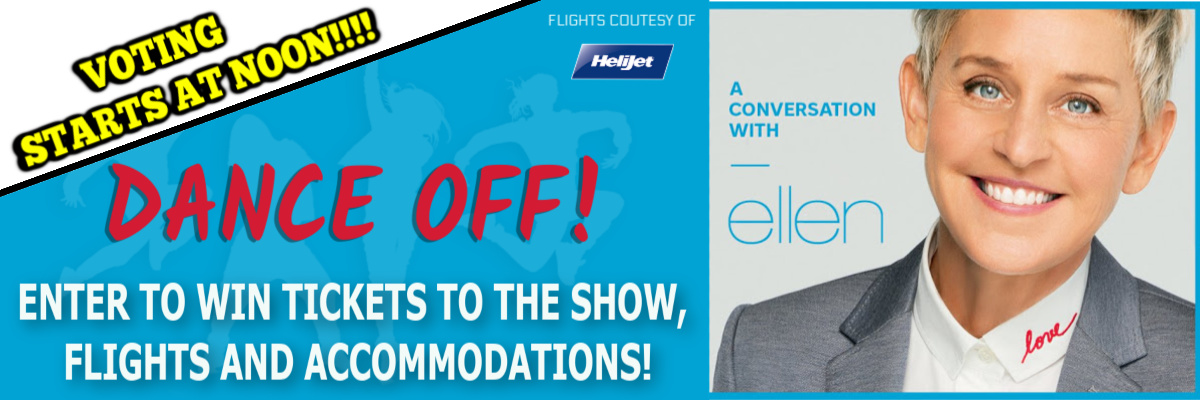 Dance Your Way To See Ellen!