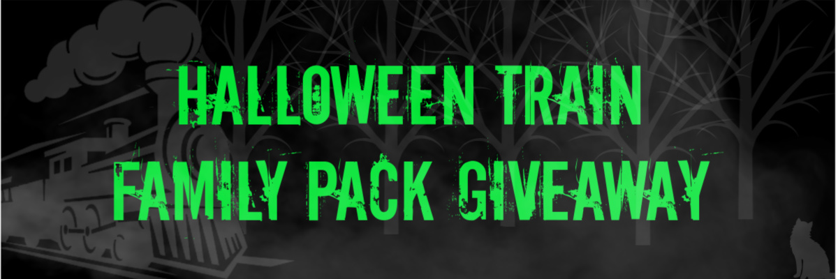 Win A Family Pack of Tickets to the Forest BC Discovery Centre Halloween Train!