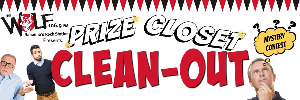Prize Closet Cleanout!