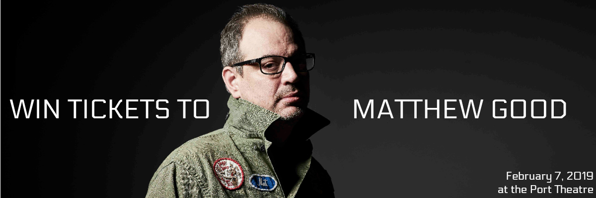WIN Tickets to the Matthew Good – Solo Acoustic show