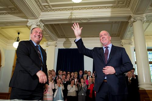 Horgan to be Sworn in as B-C Premier