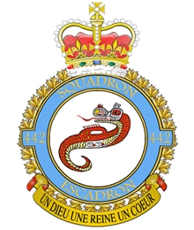 Comox's 442 Squadron Rescues Fissherman in Distress at Sea