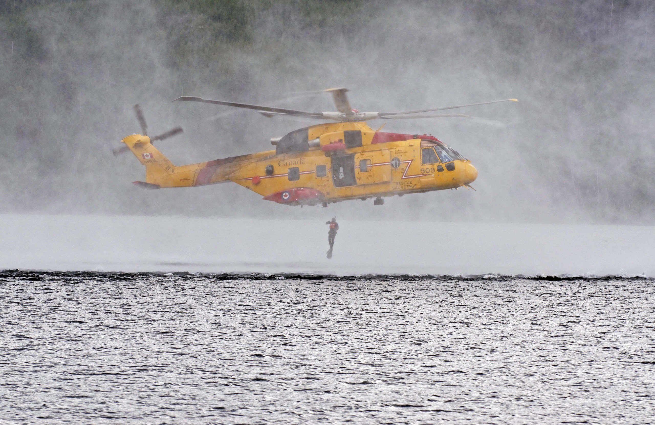 442 Squadron Helps Save Another Life
