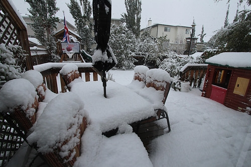 Snow Storm Hits The North Island