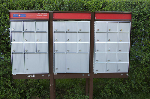 Community Mailbox Thefts