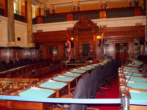 BC Legislature Throne Speech