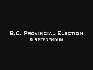 BC Voter Turnout